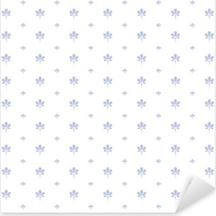 seamless floral pattern Pixerstick Sticker