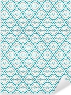 seamless geometric pattern Pixerstick Sticker