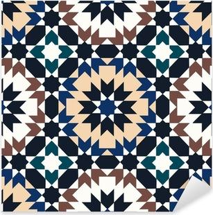 seamless islamic geometric pattern Pixerstick Sticker