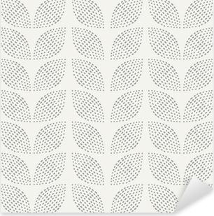 Seamless Pattern. Hand Drawn. Flower. Background design Pixerstick Sticker