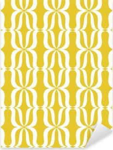 seamless vintage pattern Pixerstick Sticker