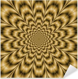 Sepia Eye Bender Pixerstick Sticker