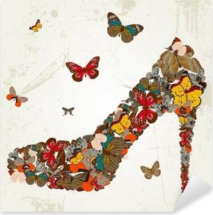 Sticker Pixerstick Shoes
