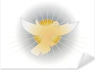 Simbolo dello Spirito Santo (colomba) Pixerstick Sticker
