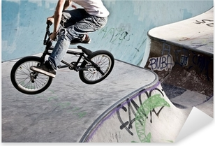 Sticker Pixerstick Skatepark im BMX