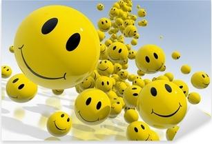 Smile Pixerstick Sticker