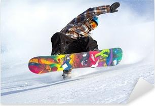 Pixerstick Sticker Snowboard evolutie