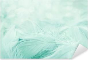 Soft fluffy feathers Pixerstick Sticker