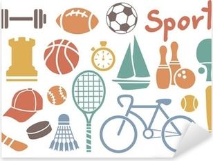 Pixerstick Sticker Sport icon set