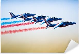 sport jet planes Pixerstick Sticker