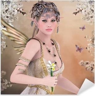 Spring queen Pixerstick Sticker