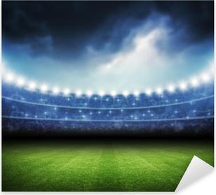 Stadium Pixerstick Sticker