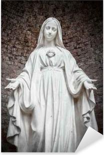 Pixerstick Sticker Standbeeld van Onze-Lieve-Vrouw