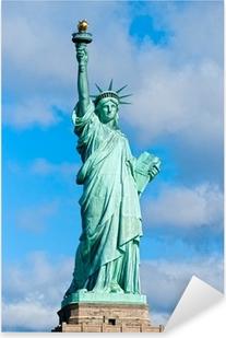 Sticker Pixerstick Statue de la Liberté. New York, Etats-Unis.