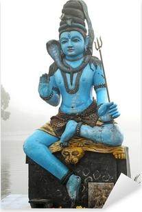 Sticker Pixerstick Statue de Shiva