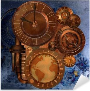 steampunk Pixerstick Sticker