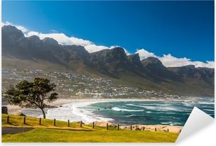 Pixerstick Sticker Strand in Kaapstad Zuid-Afrika