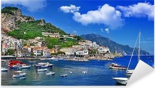 stunning Amalfi coast. Italy Pixerstick Sticker