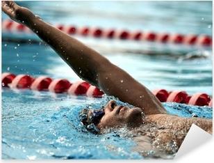 Swimming - sport Pixerstick Sticker