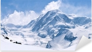 Swiss Alps Mountain Range Landscape Pixerstick Sticker