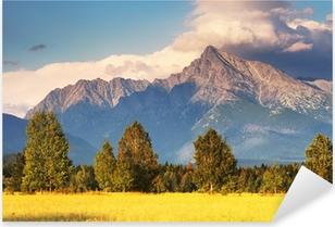 Pixerstick Sticker Symbool van Canada - Mount Krivan