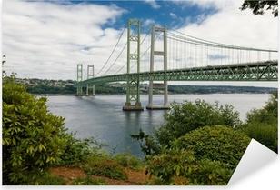 Tacoma Narrows Bridge Pixerstick Sticker