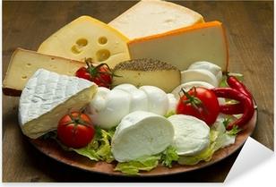 tagliere formaggi misti Pixerstick Sticker