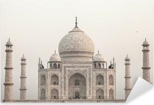 Sticker Pixerstick Taj mahal.famous monument historique en Inde, Agra, dans l'Uttar Pradesh