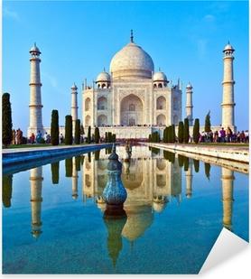 Pixerstick Sticker Taj Mahal in India