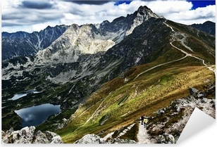Tatry - Kasprowy Wierch View Pixerstick Sticker