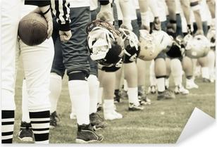 Pixerstick Sticker Team - american football begrip