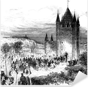 Templars - Templiers Pixerstick Sticker