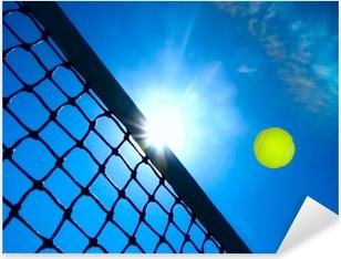 Tennis concept Pixerstick Sticker