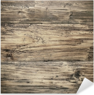 Sticker Pixerstick Texture de bois