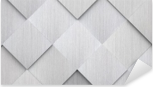 Sticker Pixerstick Texture en métal carrelé (tête du site)