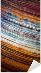Texture of gemstone onyx Pixerstick Sticker