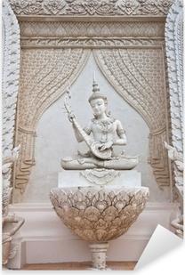 Pixerstick Sticker Thaise engel standbeeld