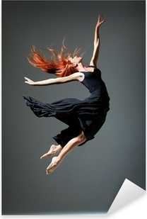 the dancer Pixerstick Sticker