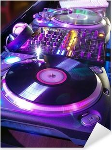 The musical equipment Pixerstick Sticker