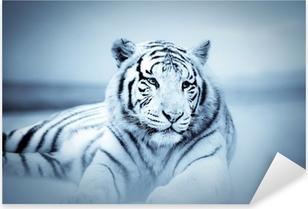 Sticker Pixerstick Tigre