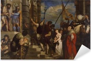 Titian - Ecce Homo Pixerstick Sticker