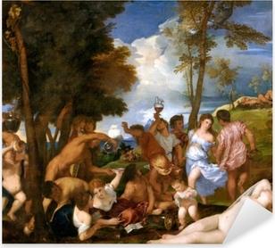 Titian - The Andrians Pixerstick Sticker