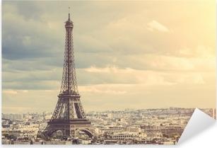 Tour Eiffel in Paris Pixerstick Sticker