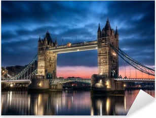 Tower Bridge Londres Angleterre Pixerstick Sticker