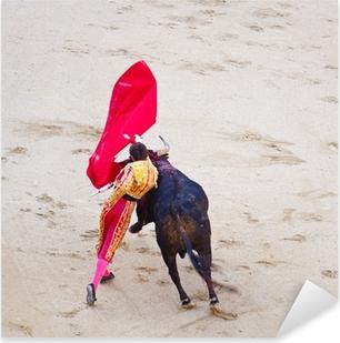 Traditional corrida - bullfighting in spain Pixerstick Sticker