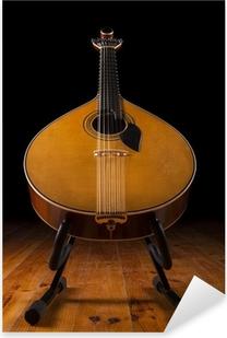 traditional Portuguese guitar Pixerstick Sticker