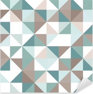 Sticker Pixerstick Triangle seamless