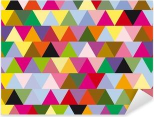 triangles Pixerstick Sticker
