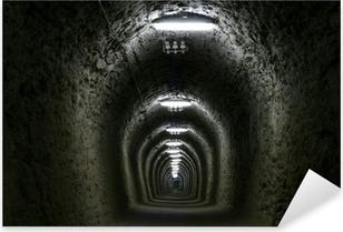 Sticker Pixerstick Tunnel de la vie