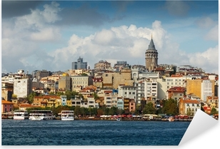 Turkey Pixerstick Sticker